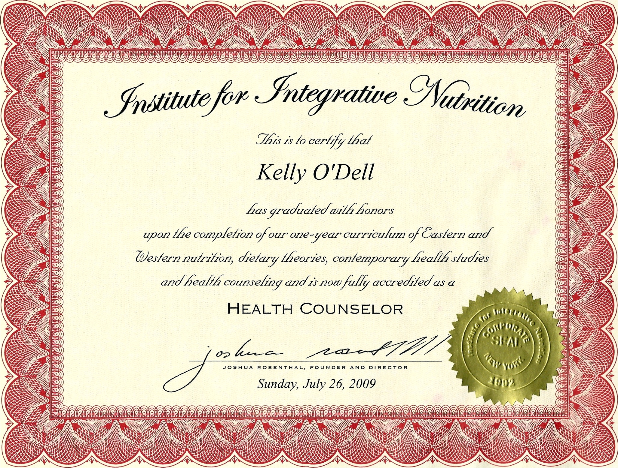 Institute For Integrative Nutrition Accreditation Besto Blog